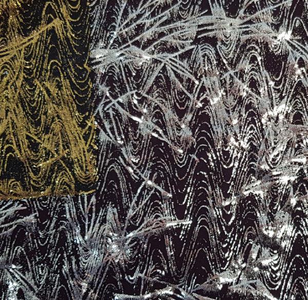 TULLE CUCARACHA - tissu hologramme - macasports