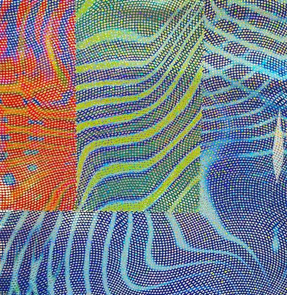 foxtrot - tissu hologramme - macasports