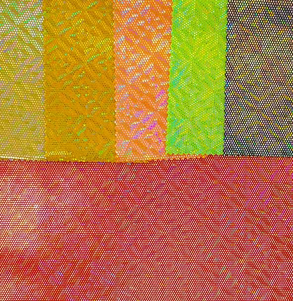 medieu point holo - tissu hologramme - macasports