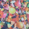 candy Tissu imprimé bonbon - macasports
