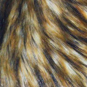 Tissu fausses fourrures lion - macasports