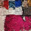 Tissu spectacle- sequins reversibles - macasports