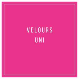 Velours uni