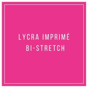 Lycra imprimé bi-stretch